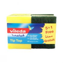 Vileda Tip Top Sponge (5 pcs)