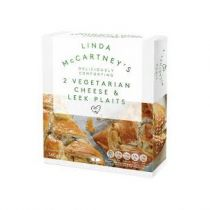 Linda McCartney's Cheese & Leek Plaits 340g