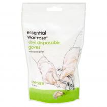 Essential Waitrose Vinyl Disposable Gloves 20