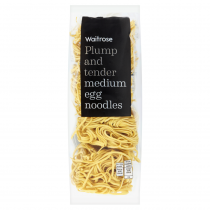 Waitrose Medium Egg Noodles 250g