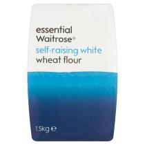 Essential Waitrose self-raising white flour 1.5kg