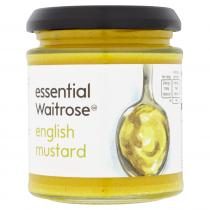 Essential Waitrose English Mustard 180g