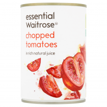 Essential Waitrose Chopped Tomatoes 400g