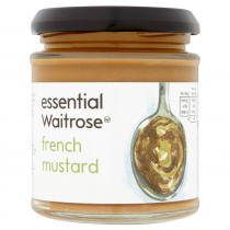 Essential Waitrose French Mustard 180g