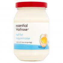 Essential Waitrose Half Fat Mayonnaise 250ml