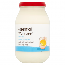 Essential Waitrose Half Fat Mayonnaise 500ml