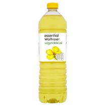 Essential Waitrose Vegetable Oil 1Ltr
