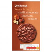 Waitrose Milk Chocolate Chip Hzlnut Cookies 150g