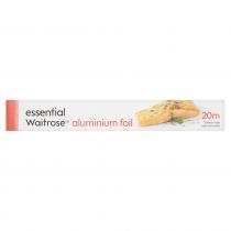 Essential Waitrose Aluminium Foil 20m