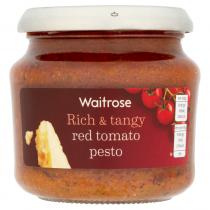 Waitrose Red Tomato Pesto 190g