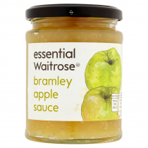 Essential Waitrose Bramley Apple Sauce 285g