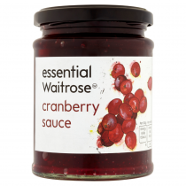 Essential Waitrose Cranberry Sauce 305g