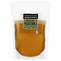 Waitrose Cooks' Ingredients Vegetable Stock 500ml