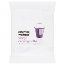 Essential Waitrose Large Cleaning Cloths 5