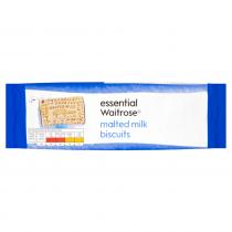 Essential Waitrose Malted Milk Biscuits 200g
