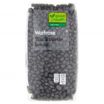 Waitrose Black Turtle Beans 500g
