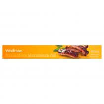 Waitrose extra thick aluminium foil 10m