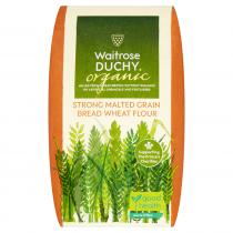 Waitrose Duchy Organic strong malted grain bread flour 1.5kg