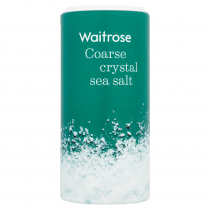 Waitrose Coarse Crystals Sea Salt 350g