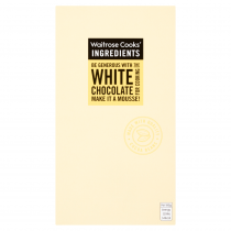 Waitrose Cooks' Ingredients White Chocolate 150g
