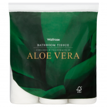 Waitrose Aloe Vera Bathroom Tissue 9