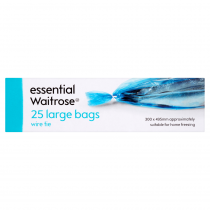 Essential Waitrose  Frozen Larg Bags 25