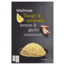 Waitrose lemon & garlic couscous 110g