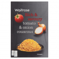 Waitrose tomato & onion couscous 110g