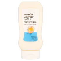 Essential Waitrose Half Fat Mayonnaise 430ml
