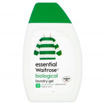 Essential Waitrose Biological laundry Gel 630ml