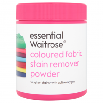 Essential Waitrose Coloured Fabric Stain Remover Powder 500g
