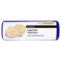 Essential Waitrose Rich Tea Biscuits 300g