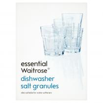Essential Waitrose Dishwasher Salt Granules 1kg