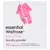 Essential Waitrose Sensitive Laundry Powder 1.43kg