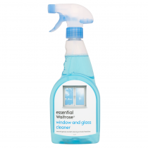 Essential Waitrose Window And Glass Cleaner 500ml