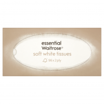 Essential Waitrose Soft White Tissues 96
