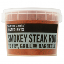 Waitrose Cooks' Ingredients Smokey Steak Rub 50g