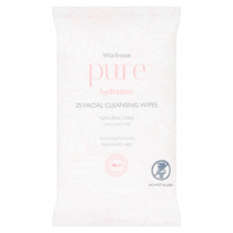 Waitrose Pure Facial Cleansing Wipes 25