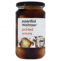 Essential Waitrose Onions Pickled 440g