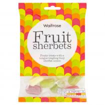 Waitrose Fruit Sherberts 225g