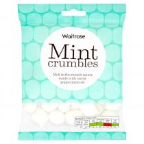 Waitrose Mint Crumbles 225g