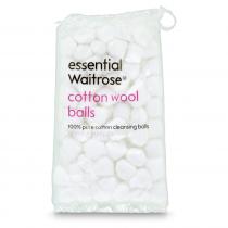 Essential Waitrose Cotton Wool Balls 100
