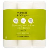 Waitrose Ecological Toilet Tissue 9