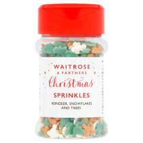 Waitrose Christmas Sprinkles 30g
