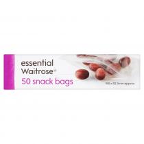 Essential Waitrose Snack Bags 50