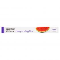 Essential Waitrose Non Pvc Cling Film 40m