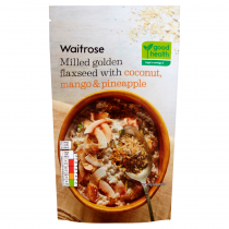 Waitrose Milled Golden Flaxseed Coconut & Mango 200g