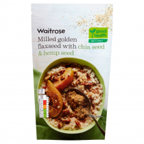 Waitrose Milled Golden Flaxseed Chia Seed 200g