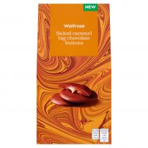Waitrose Salted Caramel Chocolate Buttons 120g