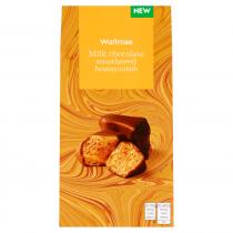 Waitrose Milk Chocolate Honeycomb 100g